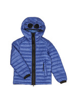 Goggle Hooded Puffer Jacket
