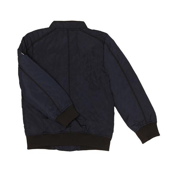 BOSS Loungewear Boys Blue J26317 Bomber Jacket main image