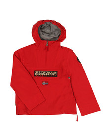Napapijri Boys Red Rainforest Jacket