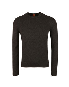 Boss Orange Mens Grey Amidro Knit