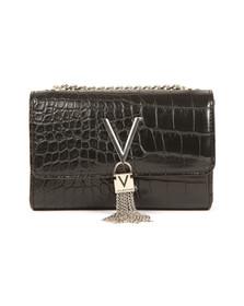 Valentino by Mario Womens Black Divina Small Clutch
