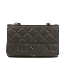 Valentino by Mario Womens Black Aneto Satchel