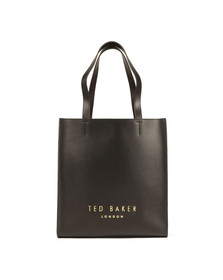 Ted Baker Womens Black Elissa Statement Letters Shopper