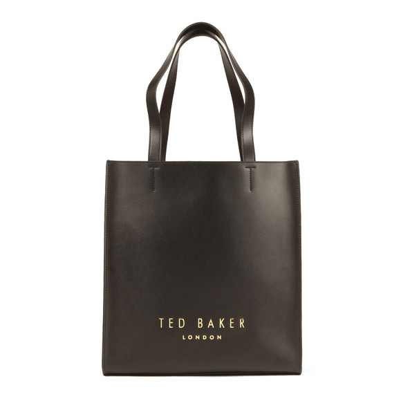 Ted Baker Womens Black Elissa Statement Letters Shopper main image