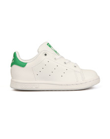 adidas Originals Boys White Stan Smith Trainer