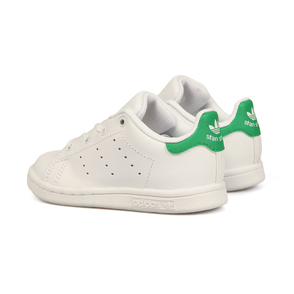 adidas Originals Boys White Stan Smith Trainer main image