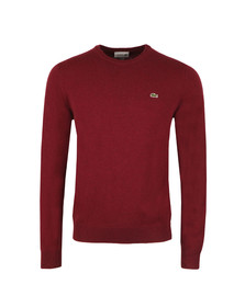 Lacoste Mens Red AH2995 Crew Neck Jumper