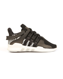 Adidas Originals Boys Black EQT Support ADV Trainers
