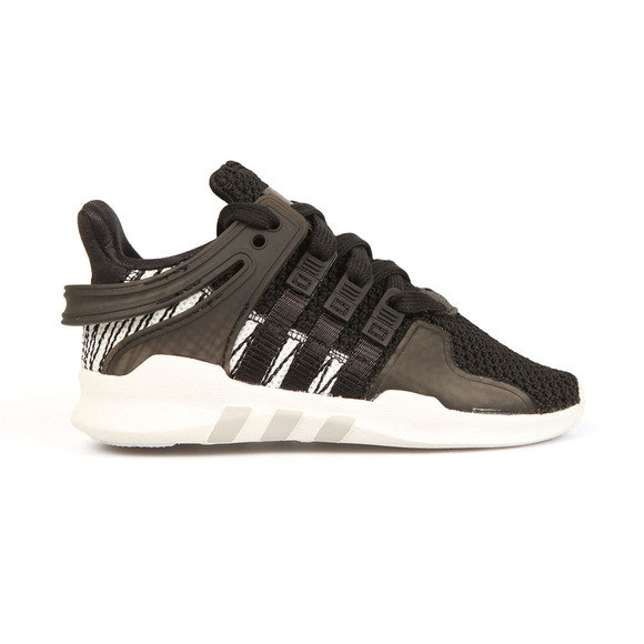 Adidas Originals Boys Black EQT Support ADV Trainers main image