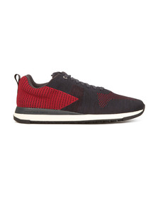 Paul Smith Mens Blue Rappid Knitted Trainer