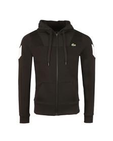 Lacoste Sport Mens Black SH8005 Full Zip Hooded Sweat