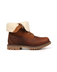 Timberland Womens Brown Authentic Teddy Fleece Boot