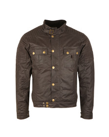 Peregrine Mens Grey Burnham Wax Jacket