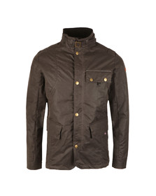Peregrine Mens Grey Bexley Wax Jacket