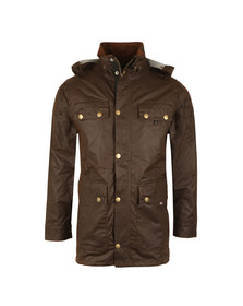 Peregrine Mens Brown Bilton Wax Jacket