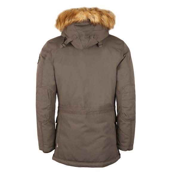 Napapijri Mens Grey Skidoo Open Long Jacket main image