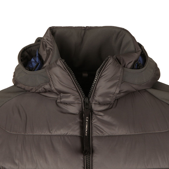 C.P. Company Mens Grey Soft Shell Puffer Goggle Jacket main image