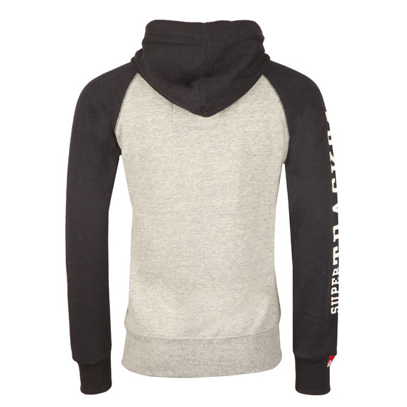 Superdry Mens Grey Trackster Baseball Ziphood main image