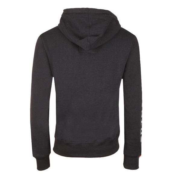 Superdry Mens Blue Trackster Ziphood main image