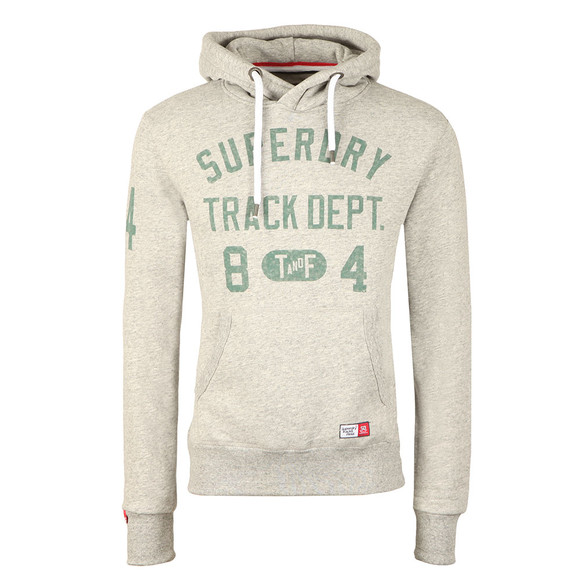 Superdry Mens Grey Trackster Hood main image