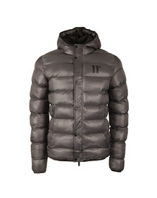 Eleven Degrees Mens Grey Strike Puffer