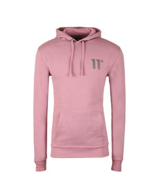 Eleven Degrees Mens Purple Core Pull Over Hoody