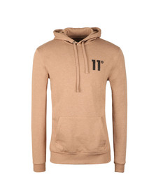 Eleven Degrees Mens Brown Core Pull Over Hoody