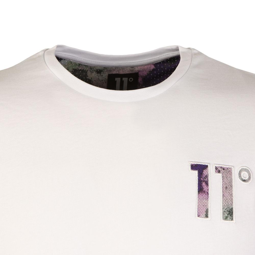 Fuzzy Camo Logo T Shirt main image