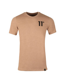 Eleven Degrees Mens Brown Core T-Shirt