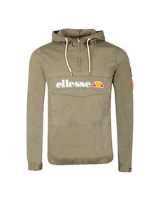 Ellesse Mens Green Monte Badge Oh Jacket