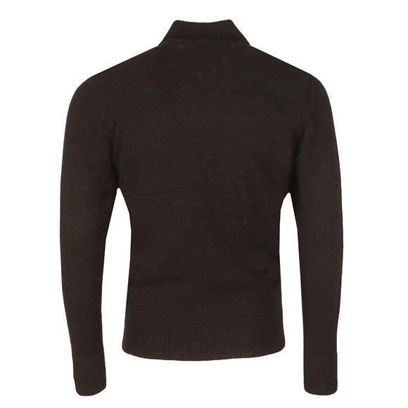 Ben Sherman Mens Black 1/2 Zip Funnel Jumper main image