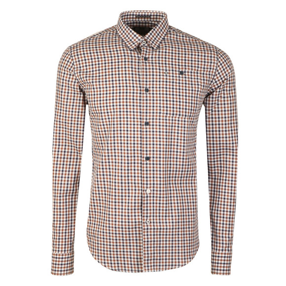 Weekend Offender Mens Multicoloured Dillon Check Shirt main image