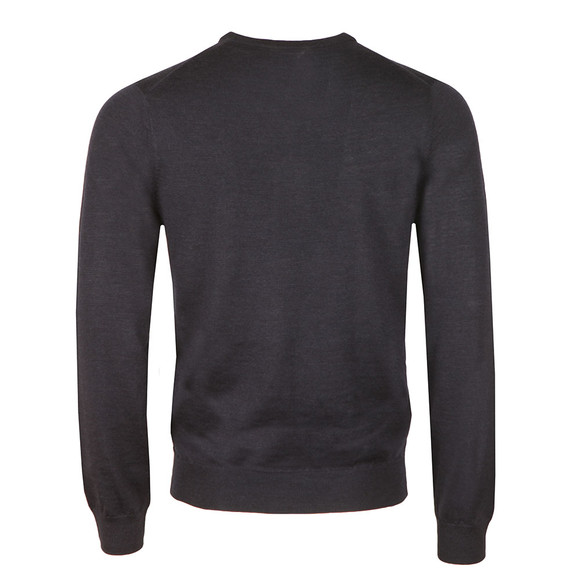 Ben Sherman Mens Blue Merino V Neck Jumper main image