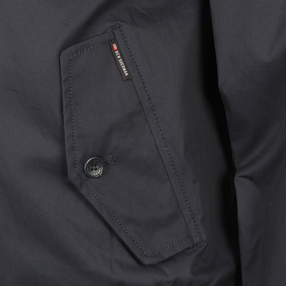 Ben Sherman Mens Blue Harrington Jacket main image