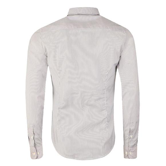 Armani Jeans Mens Blue 8N6C09 Striped Shirt main image