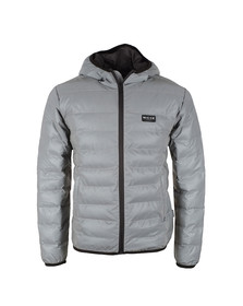 Nicce Mens Grey Pathway Puffer Jacket
