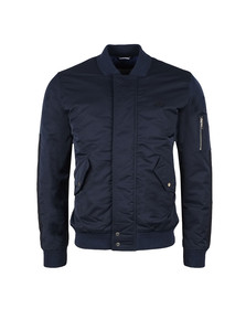 Lacoste Mens Blue BH7454 Bomber Jacket