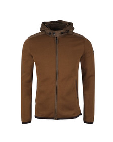 Weekend Offender Mens Green Norton Hooded Full Zip Sweat