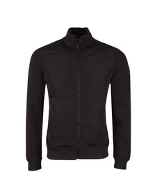 Weekend Offender Mens Black Hackman Full Zip Sweat