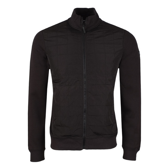 Weekend Offender Mens Black Hackman Full Zip Sweat main image