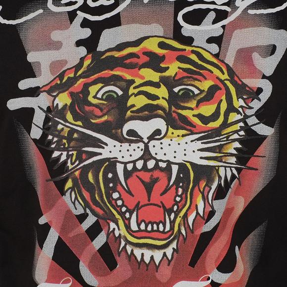 Ed Hardy Mens Black Roar Japan Crew Sweat main image