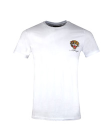 Ed Hardy Mens White Ed Tigers Japan T Shirt