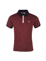 BB1 Pinstripe Polo Shirt