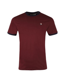 Fila Mens Red Marconi Tee