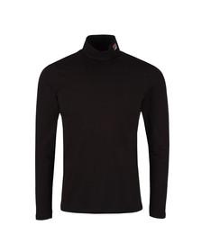 Fila Mens Black 19th Roll Neck T-Shirt
