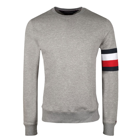 Tommy Hilfiger Mens Grey Brody Crew Sweat main image