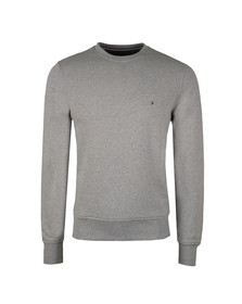 Tommy Hilfiger Mens Grey Basic Core Crew Sweat