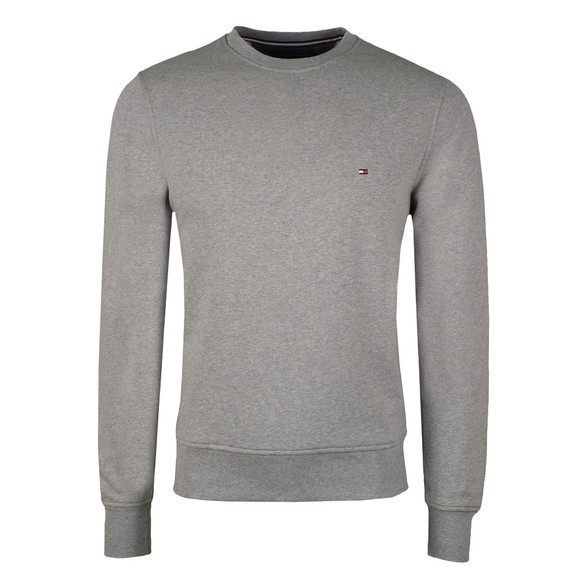 Tommy Hilfiger Mens Grey Basic Core Crew Sweat main image