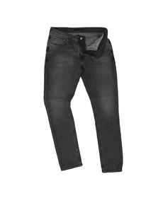 Nudie Jeans Mens Grey Wolf Skinny Lin Jean