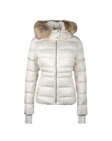 Calvin Klein Womens Grey Ovidia Down Jacket